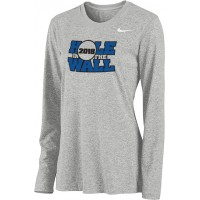 Hole In The Wall Invite 15: Nike Women's Legend Long-Sleeve Training Top - Gray