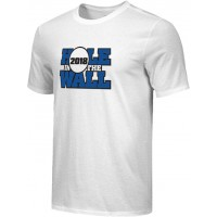 Hole In The Wall Invite 18: Adult-Size - Nike Combed Cotton Core Crew T-Shirt - White