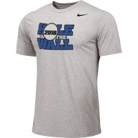 Hole In The Wall Invite 10: Adult-Size - Nike Team Legend Short-Sleeve Crew T-Shirt - Gray