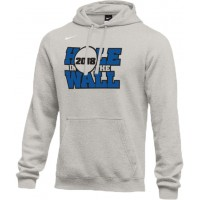 Hole In The Wall Invite 20: Adult-Size - Nike Team Club Fleece Training Hoodie (Unisex) - Gray