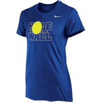 Hole In The Wall Invite 12: Nike Women's Legend Short-Sleeve Training Top - Royal Blue