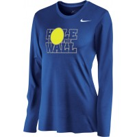 Hole In The Wall Invite 15: Nike Women's Legend Long-Sleeve Training Top - Royal Blue