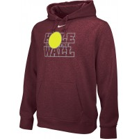 Hole In The Wall Invite 24: Close-Out: Nike Team Club Fleece Training Hoodie (Unisex) - Cardinal