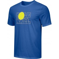 Hole In The Wall Invite 16: Adult-Size - Nike Combed Cotton Core Crew T-Shirt - Royal Blue