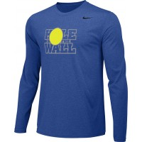Hole In The Wall Invite 13: Adult-Size - Nike Team Legend Long-Sleeve Crew T-Shirt - Royal Blue